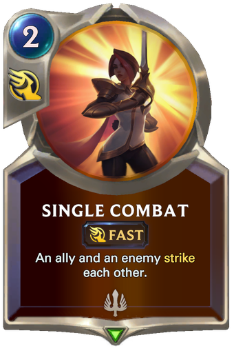 Single Combat Card Image