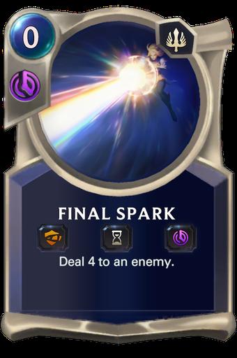 Final Spark Card Image