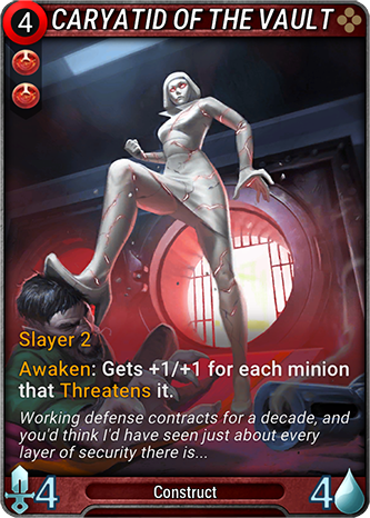 Caryatid of the Vault Card Image