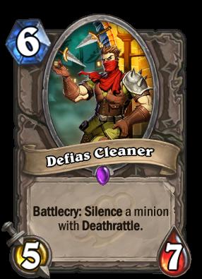 Defias Cleaner Card Image