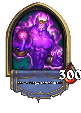 Xatma, Plague Lord of Death Card Image