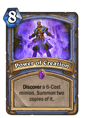 Power of Creation Card Image