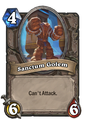 Sanctum Golem Card Image