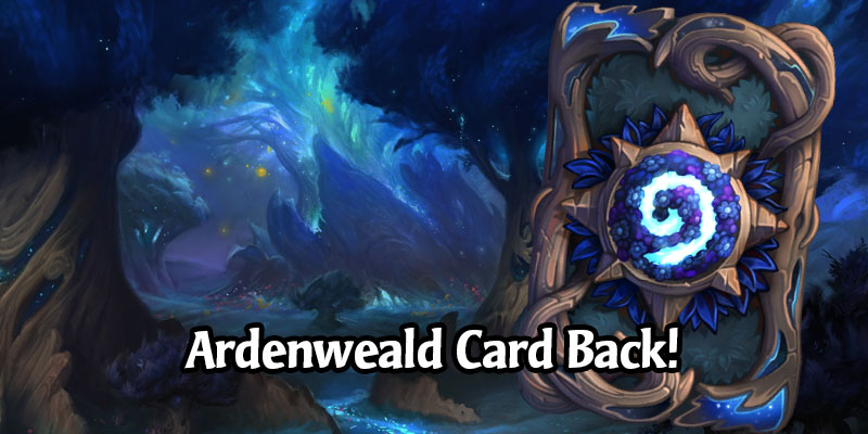 Hearthstone's June Card Back, Mystic Forest, Has Arrived!