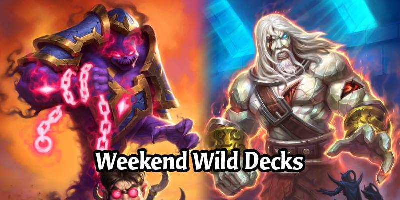 Weekend Wild Hearthstone Decks - Ra Rogue, Totem Shaman, Odd Highlander Warlock & More