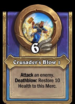 Crusader's Blow 1 Card Image