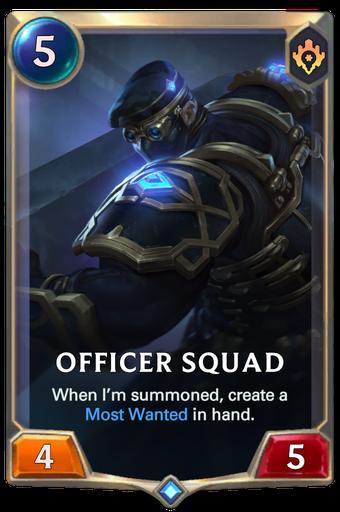 Officer Squad Card Image