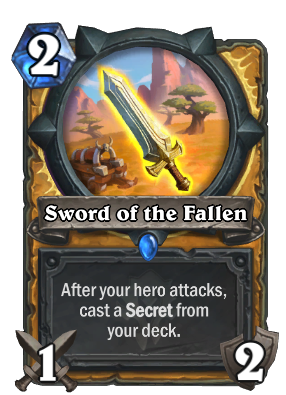 Sword of the Fallen Card Image