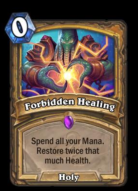 Forbidden Healing Card Image