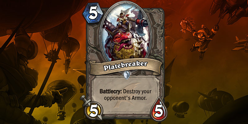 New Card Reveal - Platebreaker (ARMOR DESTRUCTION)