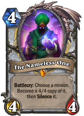 The Nameless One Card Image