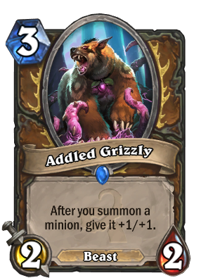 Addled Grizzly Card Image