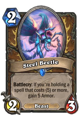 Steel Beetle Card Image