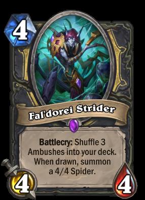 Fal'dorei Strider Card Image