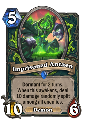 Imprisoned Antaen Card Image