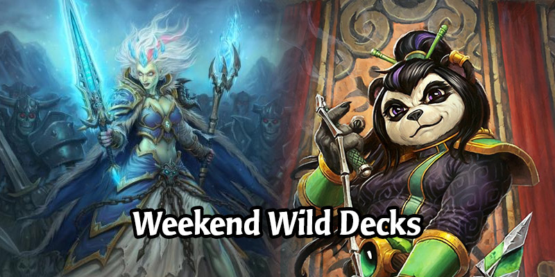 Weekend Wild Hearthstone Decks - Elemental Mage, Jade Rogue, Taunt Druid, & More!