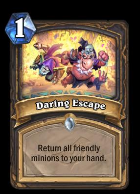Daring Escape Card Image