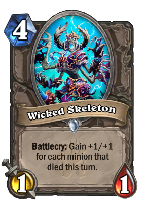 Wicked Skeleton Card Image