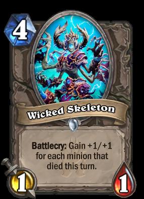 Wicked Skeleton Card Image