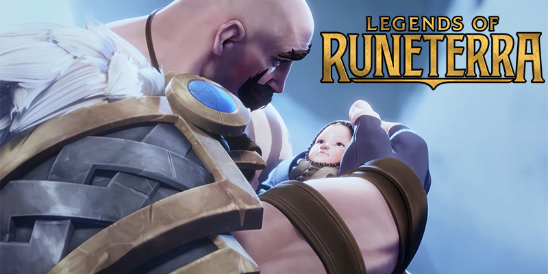 New Legends of Runeterra Story Video for Freljord - Featuring Braum