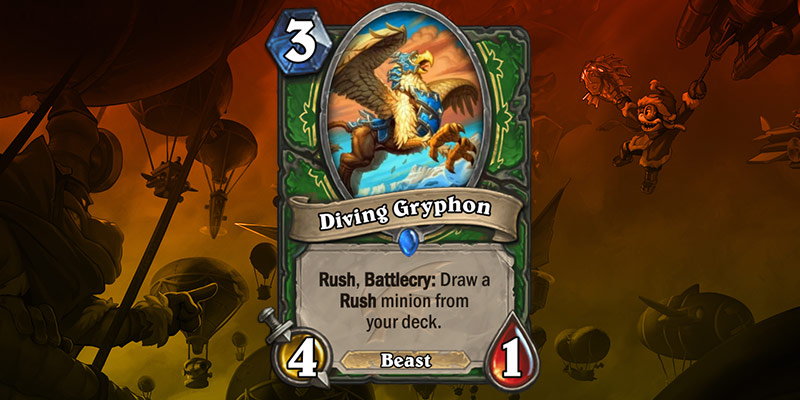 Hunter Card Reveal - Diving Gryphon