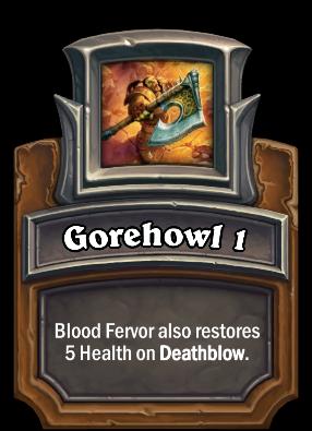 Gorehowl 1 Card Image