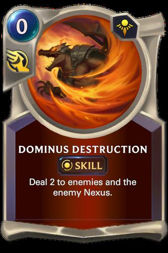 Dominus Destruction Card Image