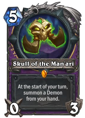 Skull of the Man'ari Card Image