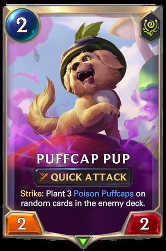 Puffcap Pup Card Image