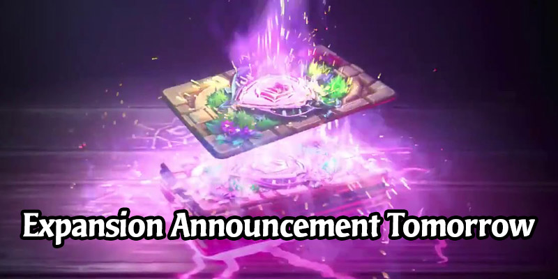 Tomorrow, Unleash the Magic Within - Hearthstone Expansion Announcement on July 14
