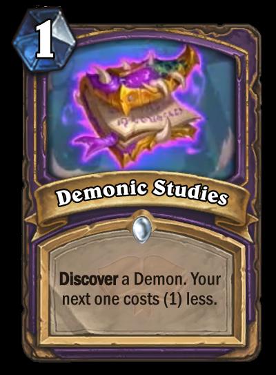 Demonic Studies Card Image