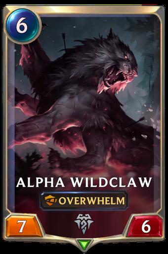 Alpha Wildclaw Card Image