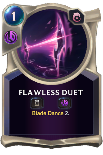 Flawless Duet Card Image