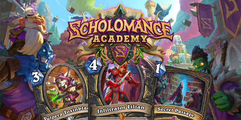 Our Thoughts on Hearthstone's Scholomance Academy Rogue Cards