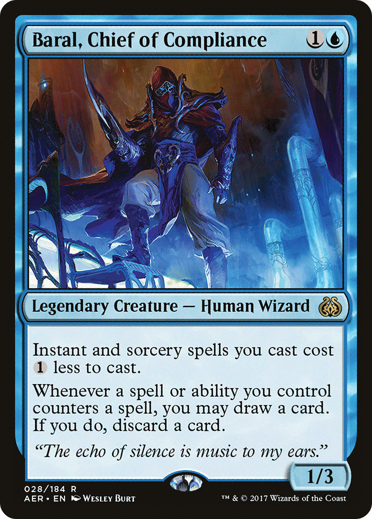 Baral, Chief of Compliance Card Image