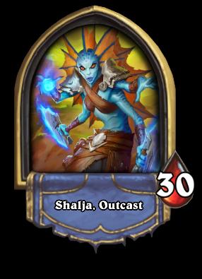 Shalja, Outcast Card Image