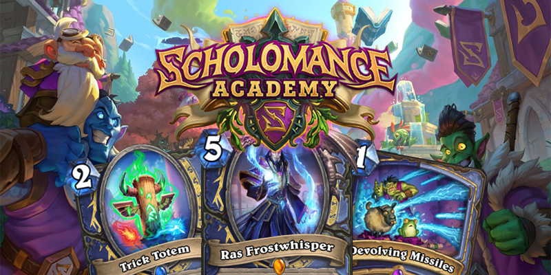 Our Thoughts on Hearthstone's Scholomance Academy Shaman/Mage Dual Class Cards