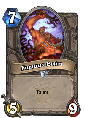 Furious Ettin Card Image