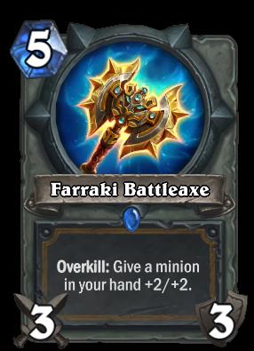 Farraki Battleaxe Card Image