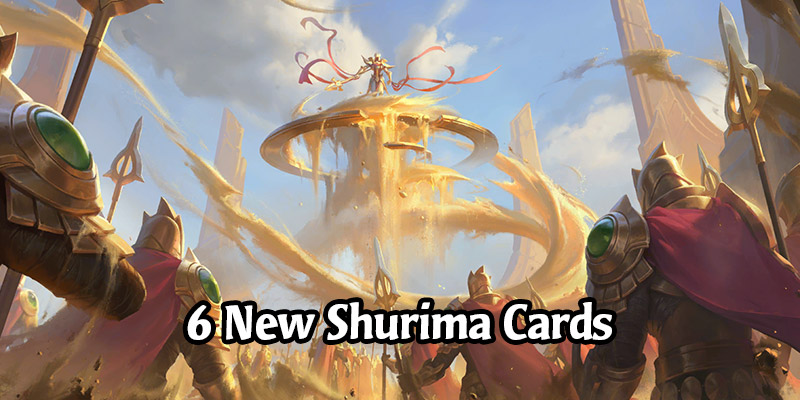 6 New Shurima Cards for Runeterra's Empires of the Ascended Expansion with Ephemeral Sand Soldiers