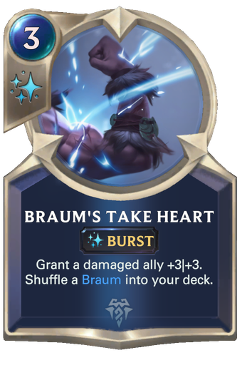Braum's Take Heart Card Image
