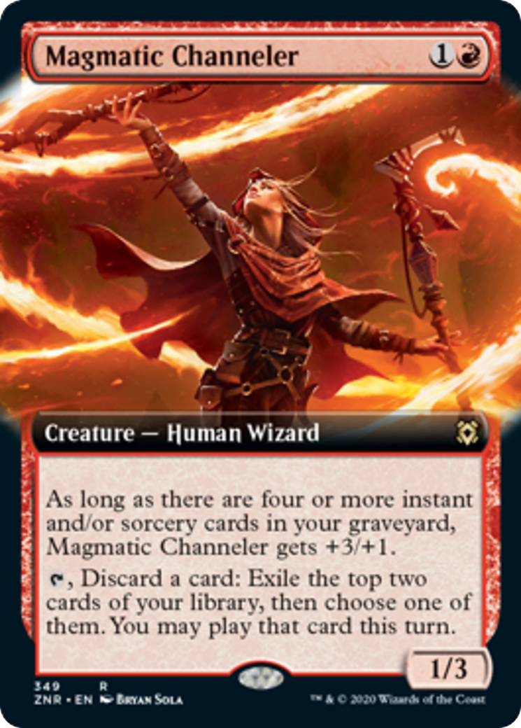 Magmatic Channeler Card Image