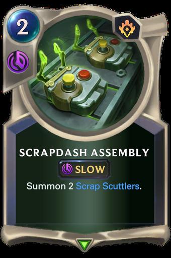Scrapdash Assembly Card Image