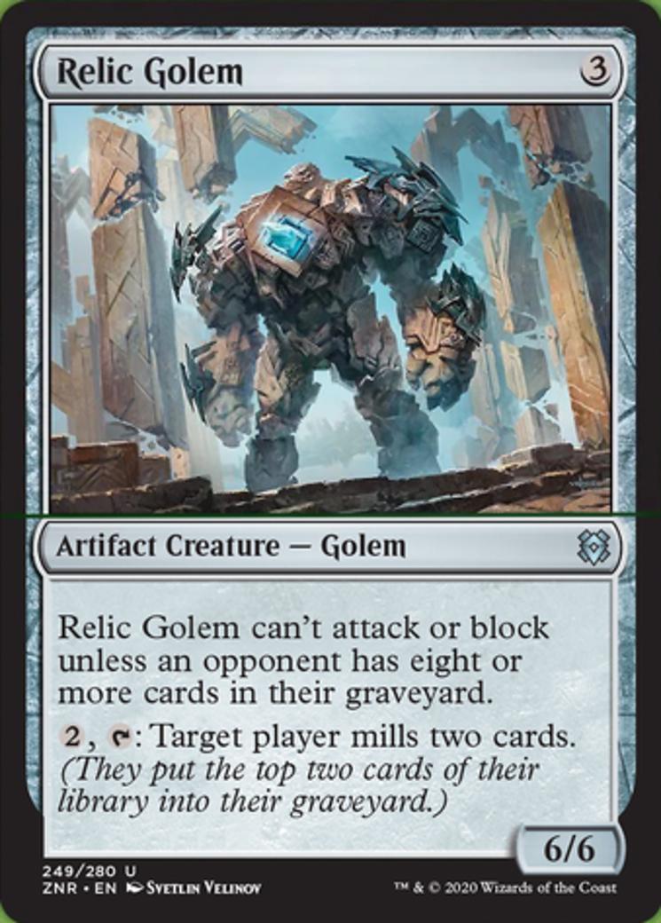 Relic Golem Card Image