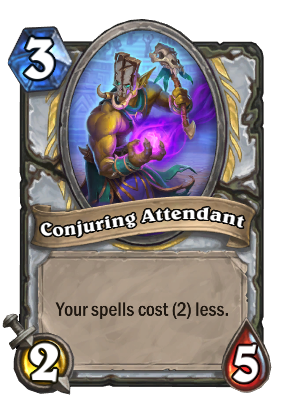 Conjuring Attendant Card Image