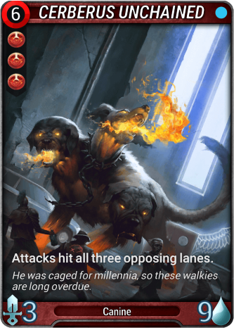 Cerberus Unchained Card Image