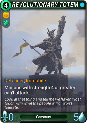 Revolutionary Totem Card Image