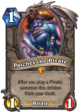 Patches the Pirate Card Image