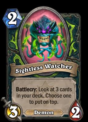 Sightless Watcher Card Image