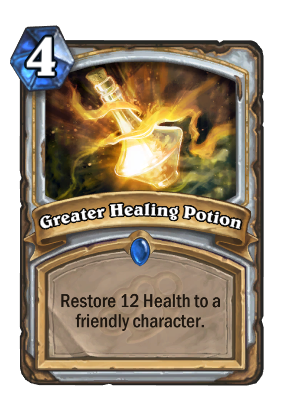 Greater Healing Potion Card Image